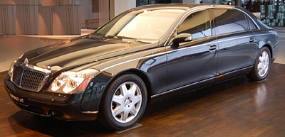 Maybach 62 Rental