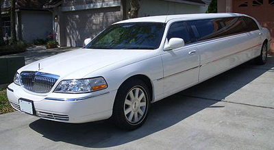 Stretch Lincoln 10 passenger