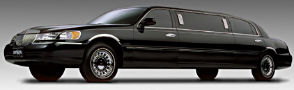 Stretch Lincoln 6 passenger Limousine rental